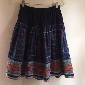 Gorgeous Vintage Aoyama Itchome Handmade Skirt